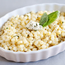 Sauteed Corn with Basil Butter