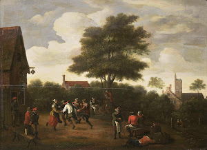 RIJKS: manner of David Teniers (II): painting 1700