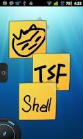 Screenshot of TSF Notepad Widget