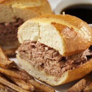 Crockpot Pot Roast for French Dip Sandwiches