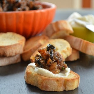 Fig and Black Ripe Olive Tapenade