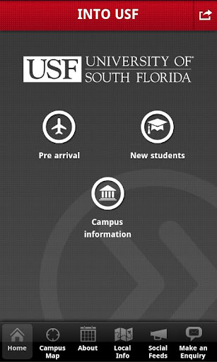 INTO USF student app