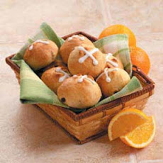 Orange Hot Cross Buns Recipe
