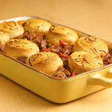 Crescent-Topped Shepherd's Pie