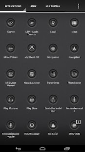 Blaque Icons Pack - screenshot