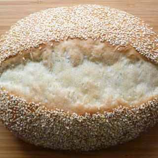 Bread Baking: Fast and Slow Sesame White Bread