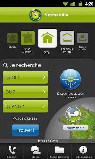 免費旅遊App|Gîtes de France Normandie|阿達玩APP