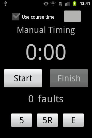 Simple Agility Timer
