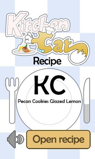 KC Pecan Cookies Glazed Lemon