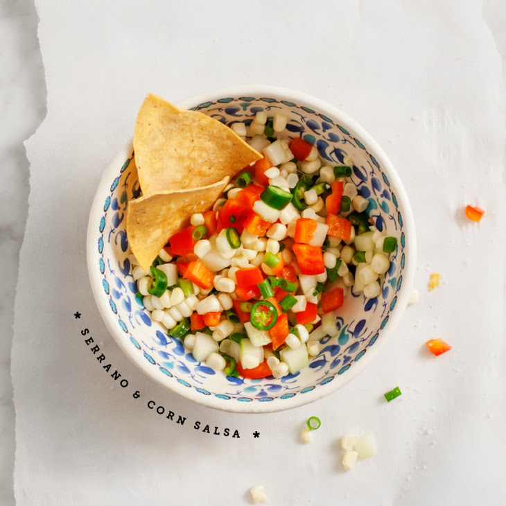 Serrano & Corn Salsa