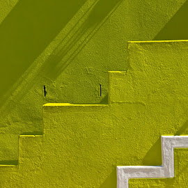 Stairs by Mike O'Connor - Buildings & Architecture Other Exteriors ( colour, patterns, stairs, south africa, steps )