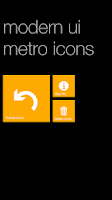 Screenshot of Modern UI Metro Icons