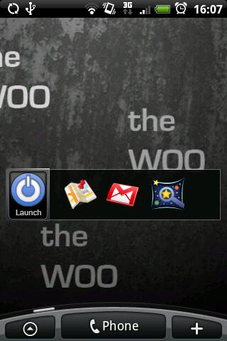 The Woo: Launcher Widget
