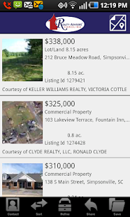 Realty-Advisors Carolina - screenshot