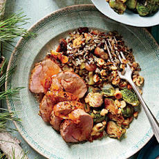 Apple Brandy-Glazed Pork Tenderloin