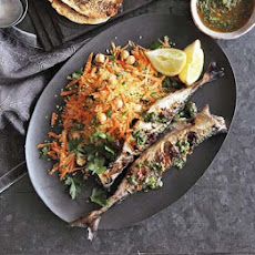 Chermoula-marinated Mackerel