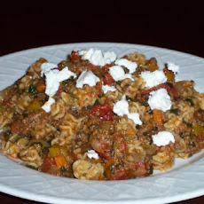 American Goulash With Peppers
