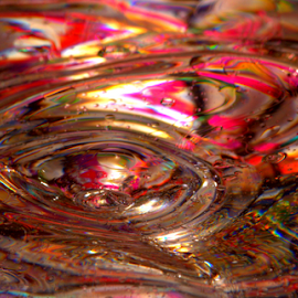 Swirls by Janet Lyle - Abstract Patterns ( water, splash, colors, droplets )
