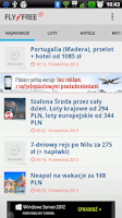 Screenshot of Fly4free+ Lite 1.0