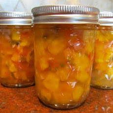 Peachy Mango Salsa, Canned for Chris!