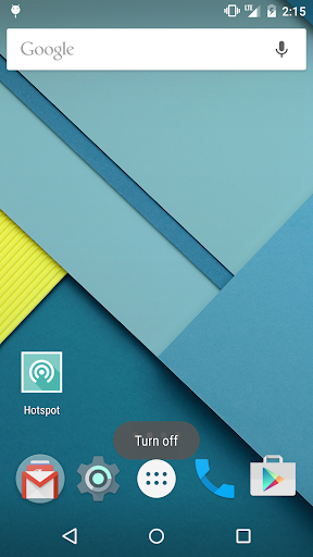 ON/OFF Switcher(Wi-Fi hotspot) - screenshot