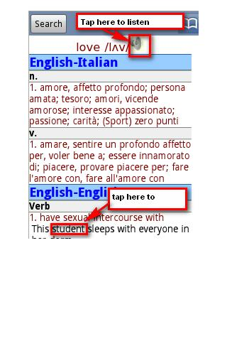 【免費書籍App】English Italian Dictionary Pro-APP點子