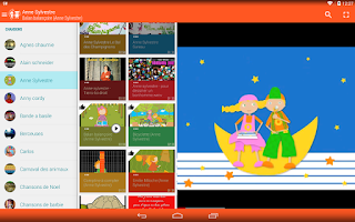 Screenshot of Chansons pour Enfants (pub)