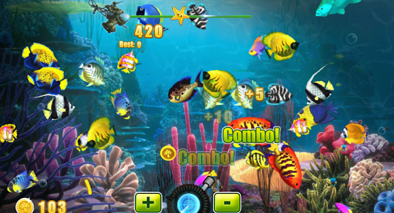 Shooting fishing game apk free casual apps for android for Free online fishing games
