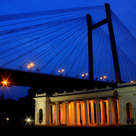 The Princep Ghat,Kolkata by Prithwish Mondal - Buildings & Architecture Bridges & Suspended Structures