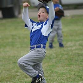 Boo-Yah by Jim Suter - Sports & Fitness Baseball ( baseball, celebration )