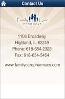 Screenshot of Family Care Pharmacy