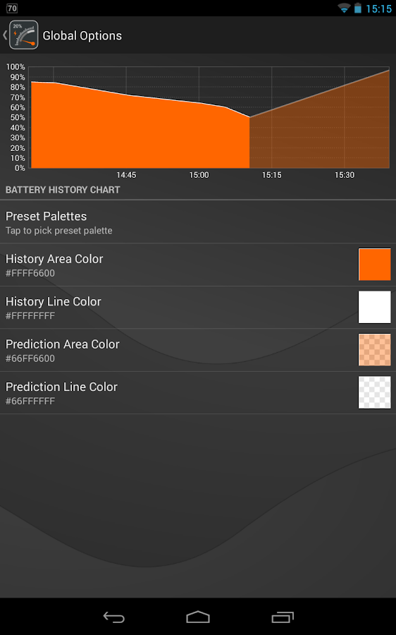 Gauge Battery Widget 2016 Screenshot 13