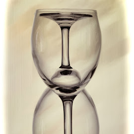 Inverted by Kim Wilhite - Artistic Objects Glass ( wine, glasses )