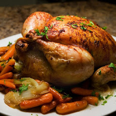 Roasted Chicken with Lemon Butter