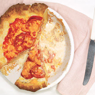 Tomato and Cheddar Pie
