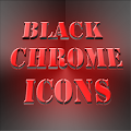 Black Chrome Icons APK for Ubuntu