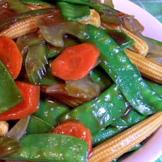 Stir-Fried Asian Vegetables