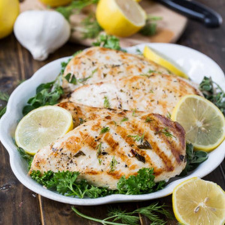 Healthy Grilled Greek Chicken Recipe | Yummly