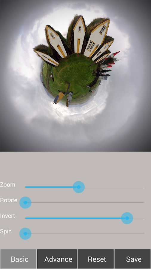 Tiny Planet FX Pro Screenshot 11