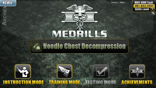 Medrills: Army NCD