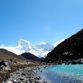 Gokyo Lake by Bhaskar Patra - Landscapes Mountains & Hills