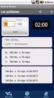 Screenshot of GymBook Pro Fitness & Workout