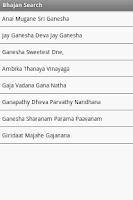 Screenshot of My Bhajan Book