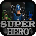 SuperHero Puzzles APK for Bluestacks