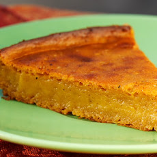 Impossible Vegan Pumpkin Pie