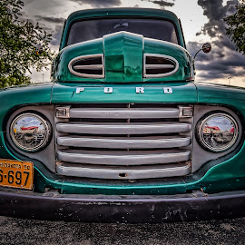 Ford Truck by Ron Meyers - Transportation Automobiles