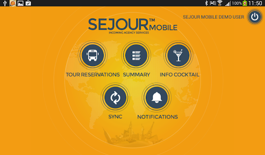 Sejour Mobile - screenshot