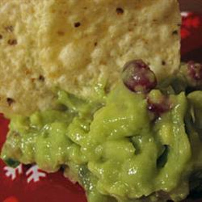 Grape, Pomegranate And Avocado Dip