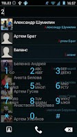 Screenshot of Modern ICS theme for exDialer