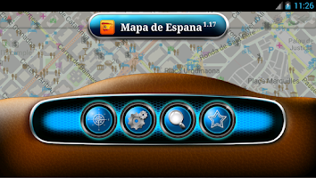 Screenshot of Map of Spain